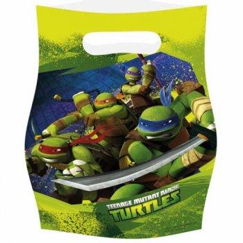 6 Pochettes cadeaux Tortue Ninja
