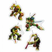 4 Bougies Tortue Ninja
