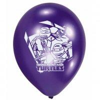 Contient : 1 x 6 Ballons Tortue Ninja