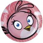 8 Assiettes Pink Bird