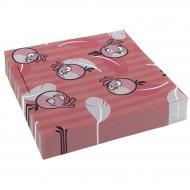 20 Serviettes Pink Bird