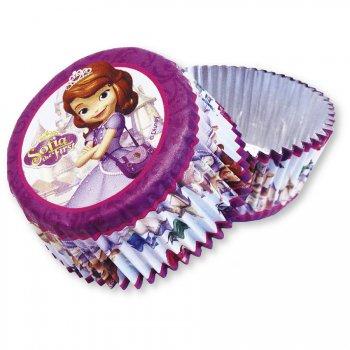 24 Caissettes à Cupcakes Pincesse Sofia