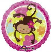 Ballon H�lium Monkey Love