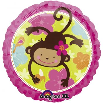 Ballon Hélium Monkey Love