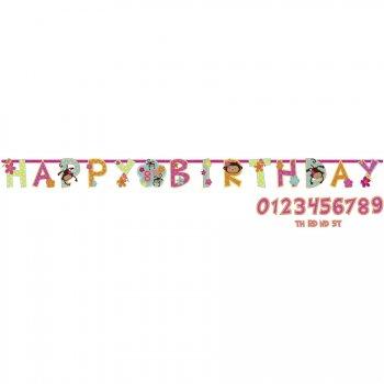 Guirlande lettres  Happy Birthday Monkey Love