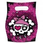 6 Pochettes cadeaux Pink Pirate