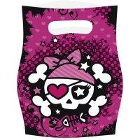 Contient : 1 x 6 Pochettes cadeaux Pink Pirate