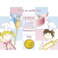 8 Certificats Little Cooks