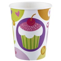 Contient : 1 x 8 Gobelets Sweet Cupcakes