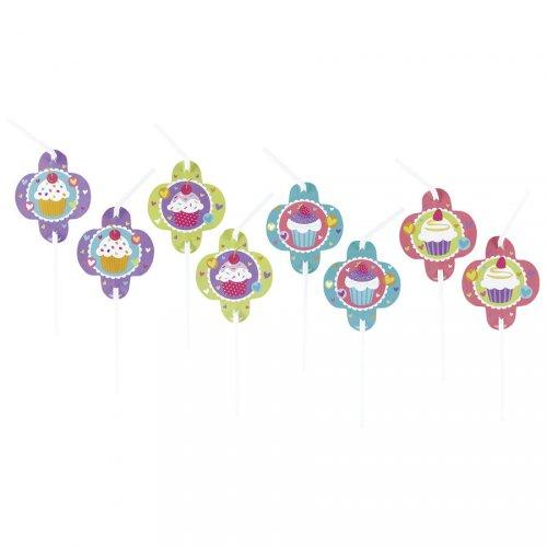 8 Pailles Sweet Cupcakes