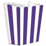 5 Pots ray�s Blanc/Violet