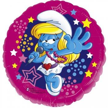 Ballon Hélium Schtroumpfette