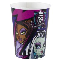 Contient : 1 x 8 Gobelets New Monster High