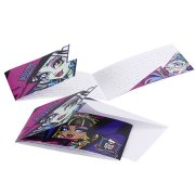 6 Invitations New Monster High