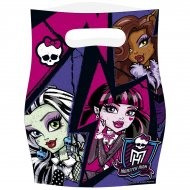 6 Pochettes cadeaux New Monster High