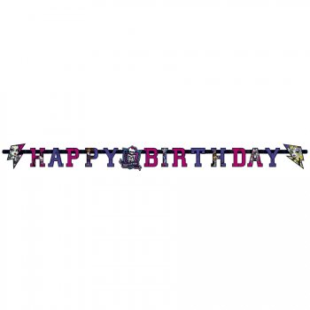 Guirlande lettres  Happy Birthday New Monster High