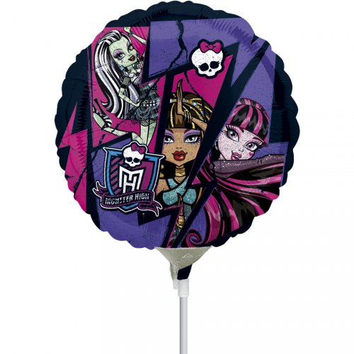 Ballon sur tige New Monster High