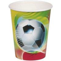 Contient : 1 x 8 Gobelets Foot Rio