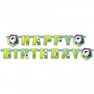 Guirlande lettres Happy Birthday Foot Rio