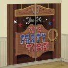 Affiche murale Cowboy party