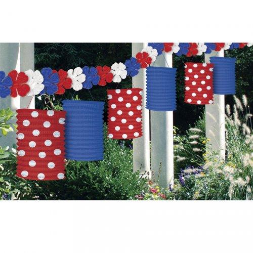 Guirlande Lanterne tricolore