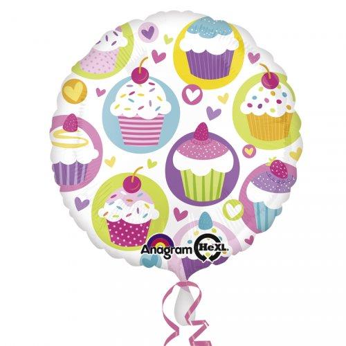 Ballon Hélium Sweet Cupcakes