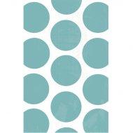 10 Sacs papier Pois Bleu