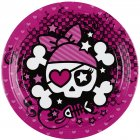 8 Petites assiettes Pink Pirate