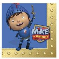 16 Serviettes Mike le Chevalier
