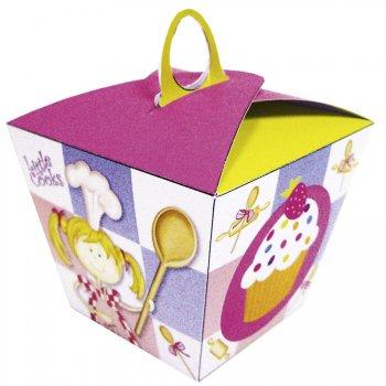 6 Boîtes à Cupcake Little Cooks