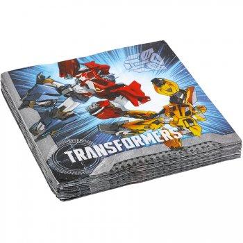 20 Serviettes Transformers 4