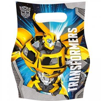 6 Pochettes cadeaux Transformers 4