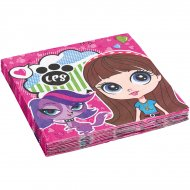 20 Serviettes Little Pet Shop 2
