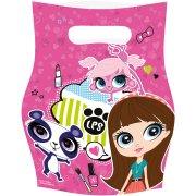 6 Pochettes cadeaux Little Pet Shop 2