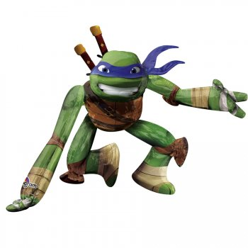 Ballon g ant tortue ninja airwalkers pour l 39 anniversaire de votre enfant annikids - Faire tenir des ballons en l air sans helium ...