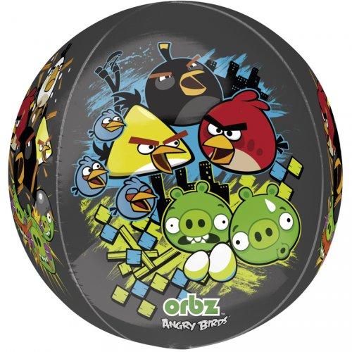 Ballon orbz Gonflé à l Hélium Angry Birds