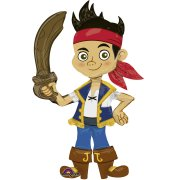 Ballon g�ant Jake le Pirate - AirWalkers