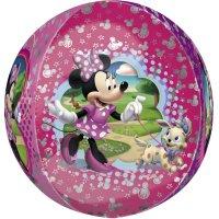Contient : 1 x Ballon orbz Gonflé à l'Hélium Minnie
