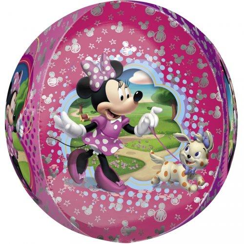 Ballon orbz Gonflé à l Hélium Minnie