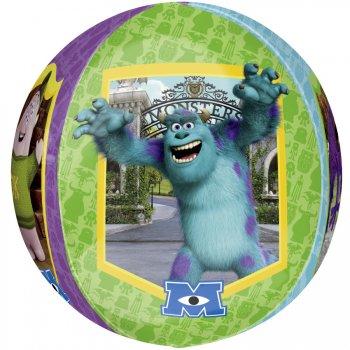 Ballon orbz Hélium Monstre Academy