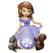 Ballon G�ant Princesse Sofia - Airwalkers