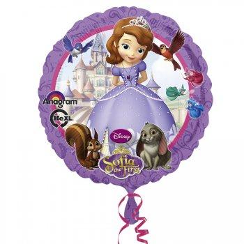 Ballon Hélium Princesse Sofia