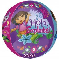 Ballon orbz Gonflé à l'Hélium Dora