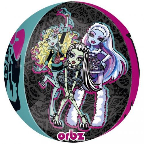 Ballon orbz Gonflé à l Hélium Monster High