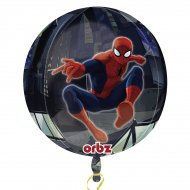 Ballon orbz hélium Spiderman