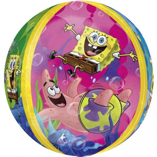 Ballon orbz Gonflé à l Hélium Bob L éponge