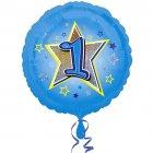 Ballon Hélium 1 an Star