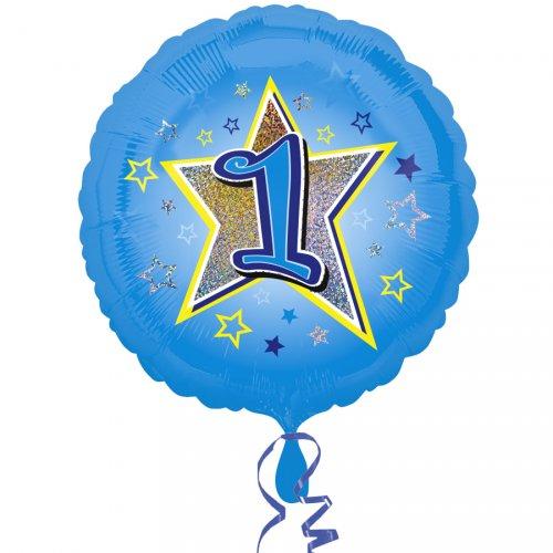 Ballon Gonflé à l Hélium 1 an Star