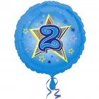 Ballon H�lium 2 ans Star