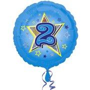 Ballon Hélium 2 ans Star
